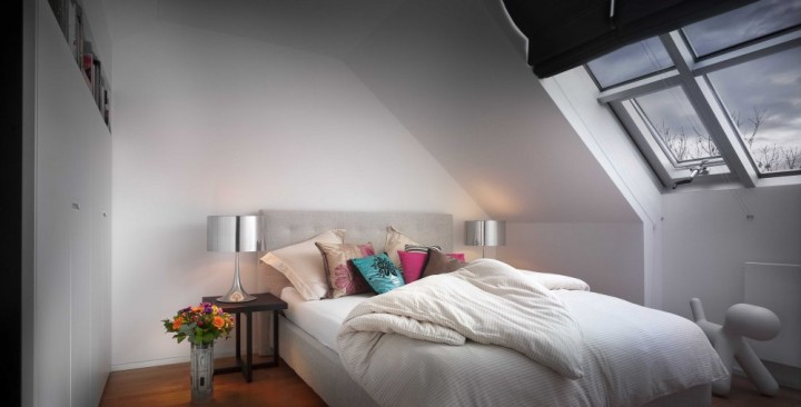 interiér k pronájmu na klíč airbnb