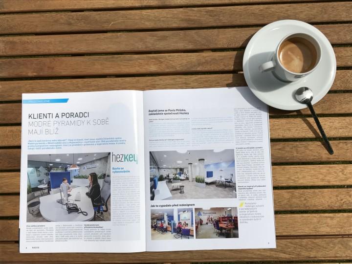 design interiéru kanceláře a klientské pobočky