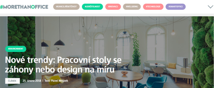 trendy v designu interieru kancelari