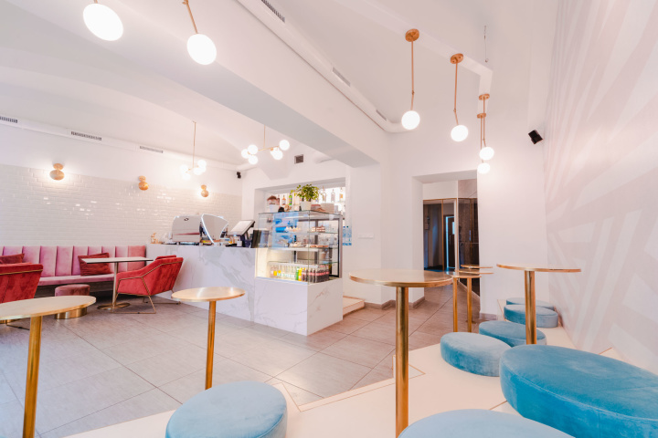 Návrh a realizácia interiéru kaviarne