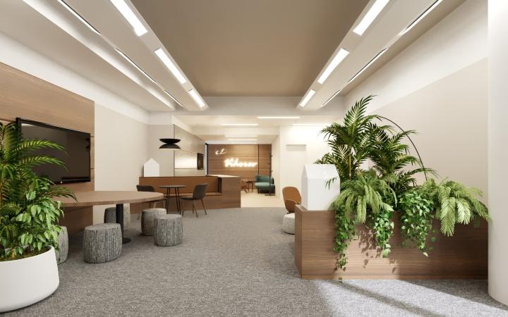 Návrh interiéru kancelárií