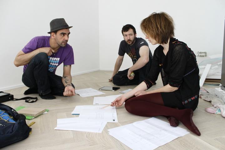 Realizace interiéru - schůzka s truhláři
