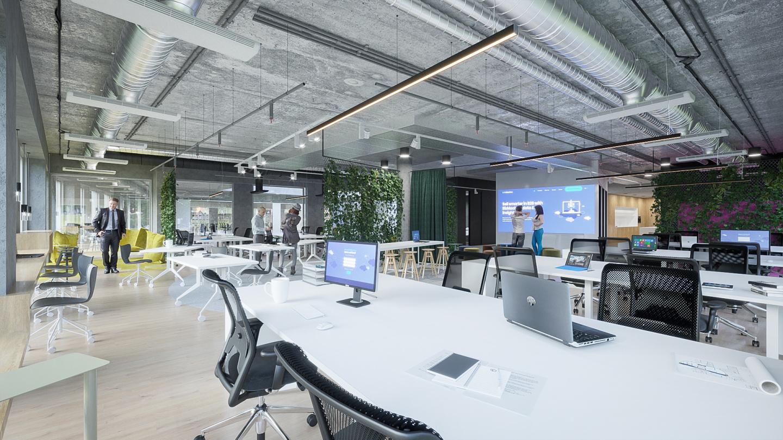 Návrh interiéru kanceláří