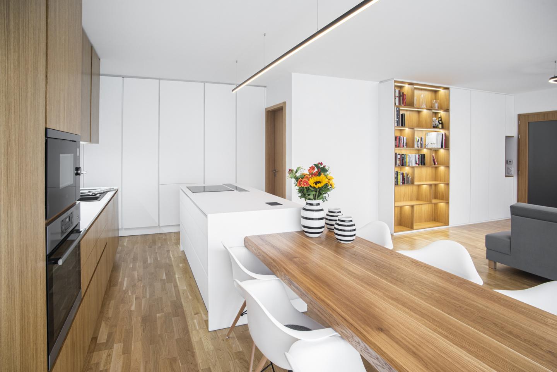 Interiér rodinného domu - interiér na míru - moderní interiér