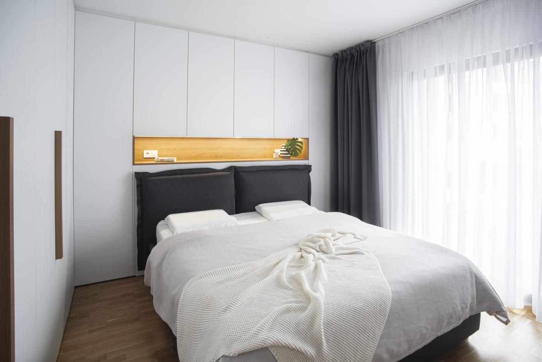 Interiér ložnice - moderní interiér