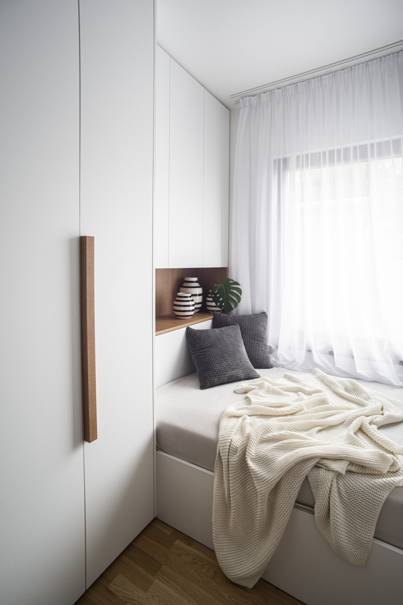 Interiér hostovského pokoje - moderní interiér