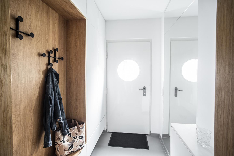 Interiér předsíně - moderní interiér