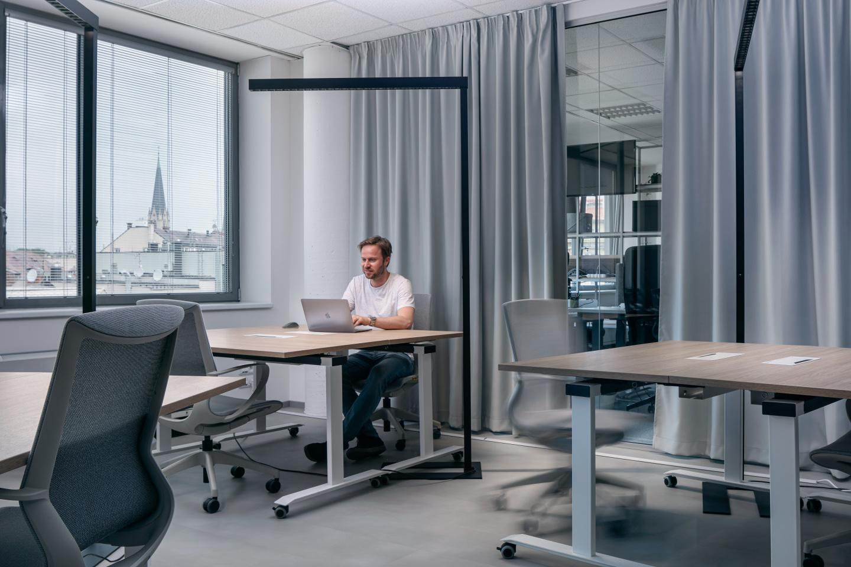 Interiér flexibilní místnosti