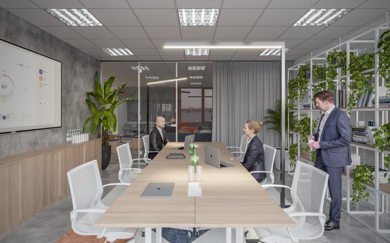 Interiér flexibilních kanceláří