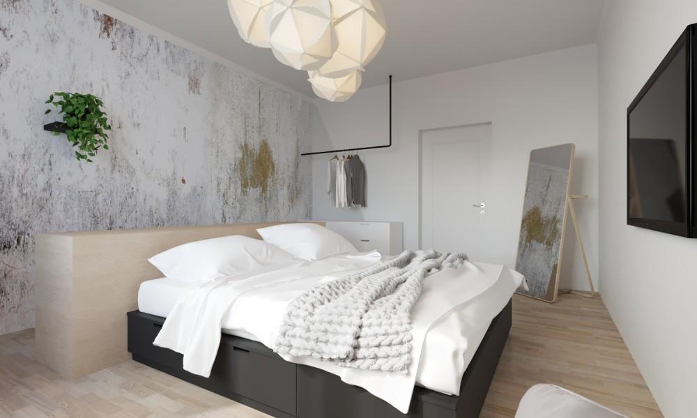 Interiér bytu na pronájem