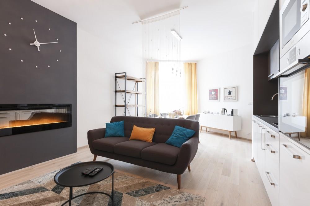 Interiér malého bytu - Interiér garsonky