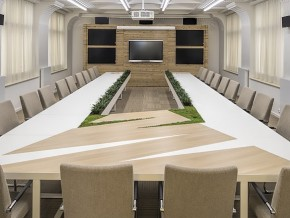 Office interior design, conference room